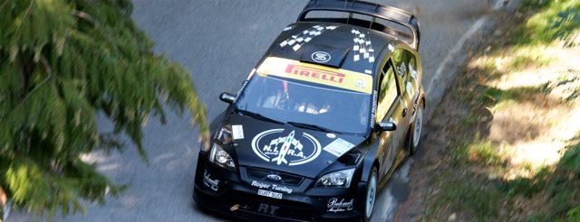 Dopo due prove Comanda Sora (Ford Focus WRC)