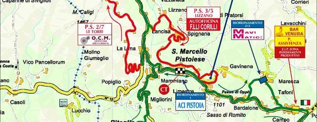 Rally 2012 Percorso e Tabella tempi percorrenza