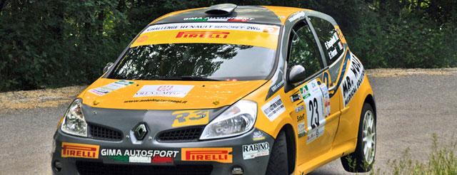 A Gasperetti-Ferrari (Renault Clio R3) il 30^ Rally degli Abeti e dell'Abetone