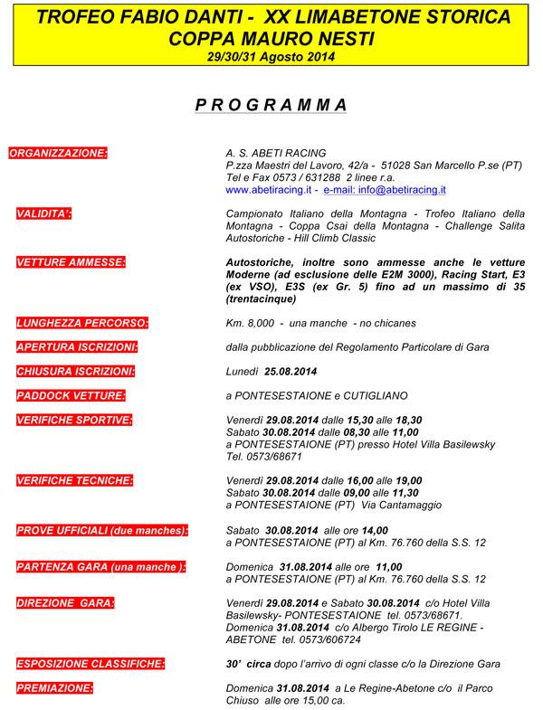 lima-programma-2014