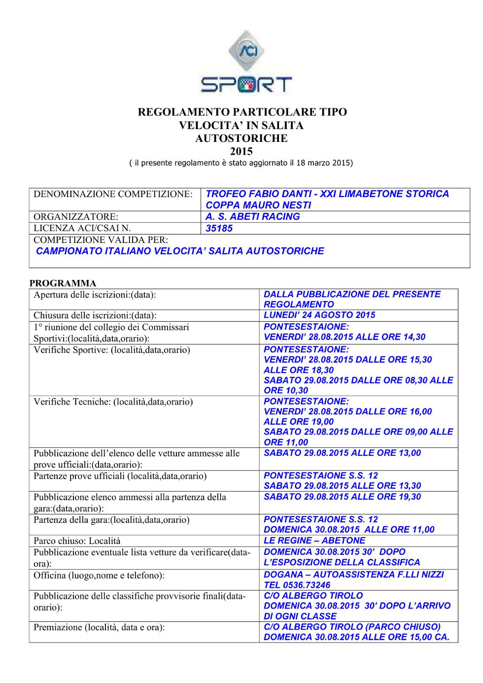 limabetone-regolamento-gara-2015-autostoriche